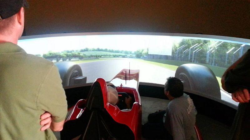 Pixelwix installs 180 degree Geo screen and Evotek F1 at billionaire Chris Cline's Beach house.
