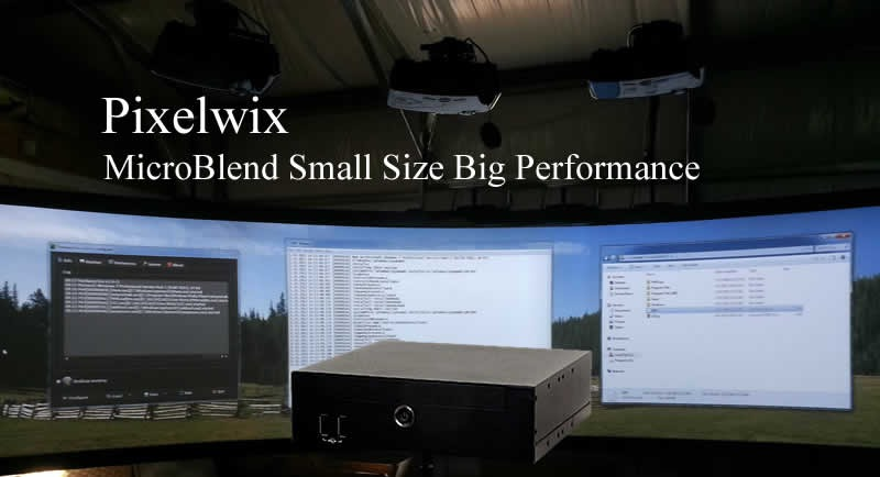 Pixelwix Release New MicroBlend Processor.