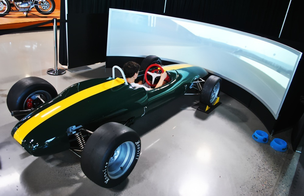 Maher Solutions installs 3 Pixelwix Simulation Products at World of Speed Museum, Wilsonville, Oregon .