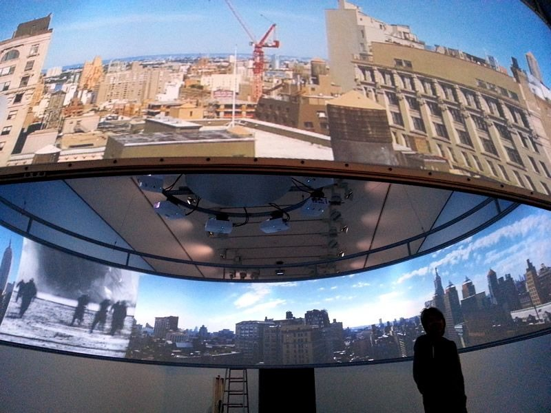 """Pixelwix picked again for the display solution """"In the Air"""" at the prestigious Musée d'art contemporain de Lyon"""